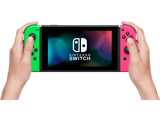 Nintendo Switch Console - Neon Green L + Neon Pink R + Screen + Lifestyle