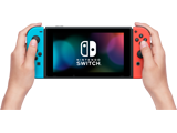 Nintendo Switch Console - Neon Blue L + Neon Red R + Screen + Lifestyle
