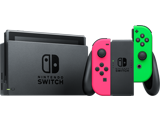 Nintendo Switch Console - Neon Pink L + Neon Green R - Joy-Con Grip
