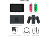 Nintendo Switch Console - Neon Pink L + Neon Green R - Items