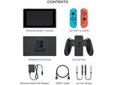 Nintendo Switch Console - Neon Blue L + Neon Red R - Items