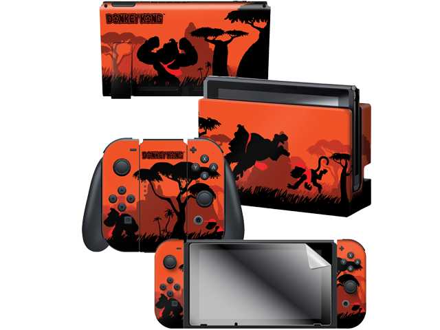 CG - Switch - Donkey Kong - Savannah Silhouette - Skins - All Items - Alt