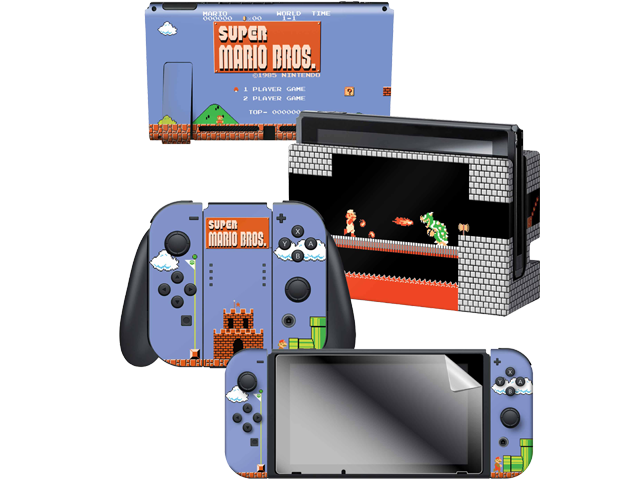 CG - Switch - Super Mario Bros. - Classic - Skins - All Items - Alt