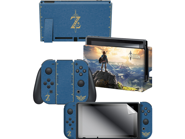 CG - Switch - Zelda - Breath of the Wild - Link Hilltop - Skins - All Items - Alt