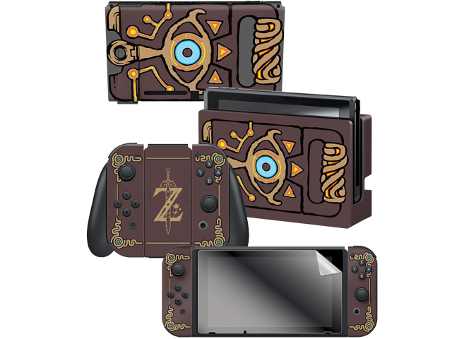 CG - Switch - Zelda - Breath of the Wild - Sheikah Slate - Skins - All Items - Alt