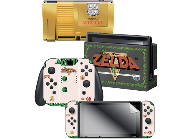 CG - Switch - Zelda - Breath of the Wild - Gold Cart - Skins - All Items - Alt