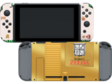 CG - Switch - Zelda - Breath of the Wild - Gold Cart - Skins - On Device