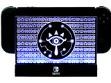 Light Up Dock - Zelda Eye - Blue