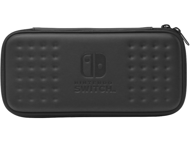 Hori - Switch - Tough Pouch - Black - Closed