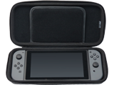 Hori - Switch - Tough Pouch - Black - Open - System