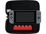 PDP - Switch - Deluxe Console Case - Mario Red Edition - Open