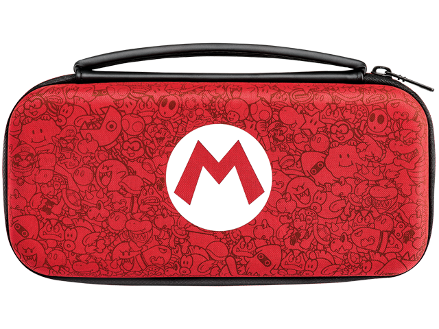 PDP - Switch - Slim Travel Case - Mario Remix Edition - Front