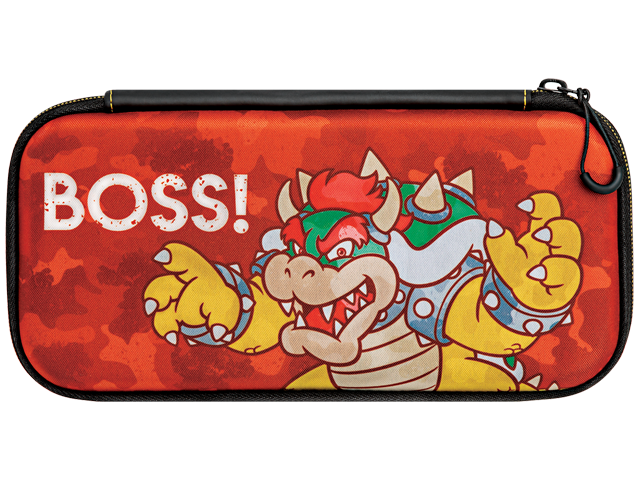 PDP - Switch - Slim Travel Case - Bowser Camo Edition - Front