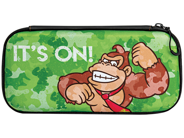 PDP - Switch - Slim Travel Case - Donkey Kong Camo Edition - Front