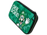 PDP - Switch - Slim Travel Case - Luigi Camo Edition - Front - Angle