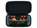 PDP - Switch - Slim Travel Case - Luigi Camo Edition - Open