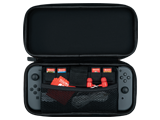 PDP - Switch - Slim Travel Case - Poke Ball Edition - Open