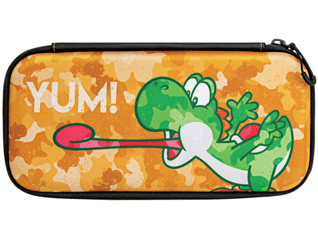 PDP - Switch - Slim Travel Case - Yoshi Camo Edition - Front