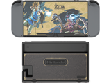 PDP - Switch - Zelda Collectors Edition Screen Protection & Skins - On Device - Back - 2