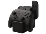 Power A - Switch - Joy-Con and Pro Controller Charging Dock - In Use - Angle