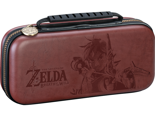 RDSI - Switch - Game Traveler Deluxe Travel Case - Zelda Brown - Closed