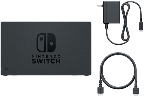 AC Adapter + Dock + HDMI Cable - Nintendo Switch