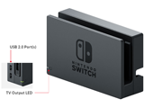 Dock - Labeled Diagram - Front - Nintendo Switch