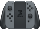 Joy-Con - Grip - Nintendo Switch - Gray L + R - Loaded - Front