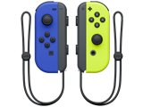 Joy-Con - Nintendo Switch - Blue L + Neon Yellow R - Straps