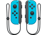 Joy-Con - Nintendo Switch - Neon Blue L + R - Straps