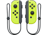 Joy-Con - Nintendo Switch - Neon Yellow L + R  - Straps