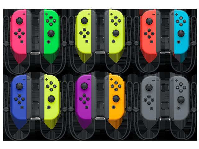 Joy-Con - Nintendo Switch - L + R - Fan