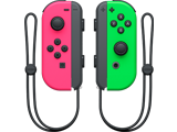 Joy-Con - Nintendo Switch - Neon Pink L + Neon Green R - Straps