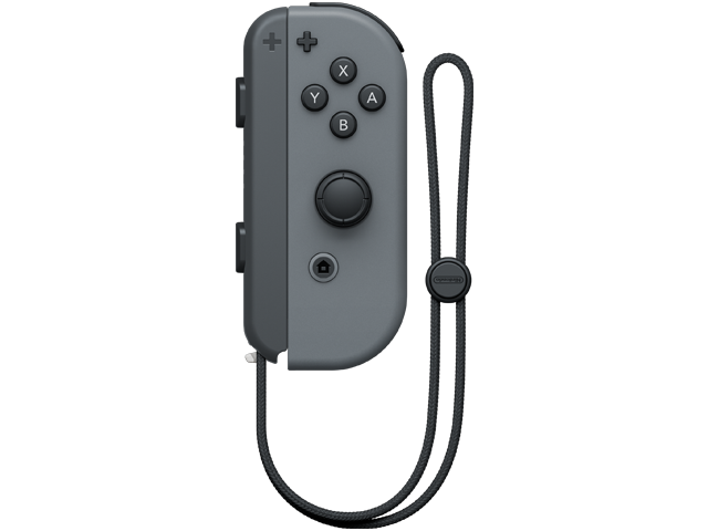 Joy-Con - Nintendo Switch - Gray R - Strap