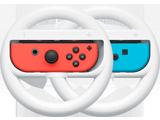 Wheels - Joy-Con - Nintendo Switch - Neon Blue L + Neon Red R - White - Merge