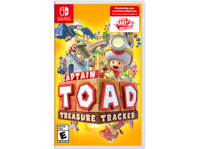 Captain Toad: Treasure Tracker (Switch) Box Art