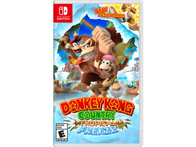 Donkey Kong Country: Tropical Freeze (Switch) Box Art