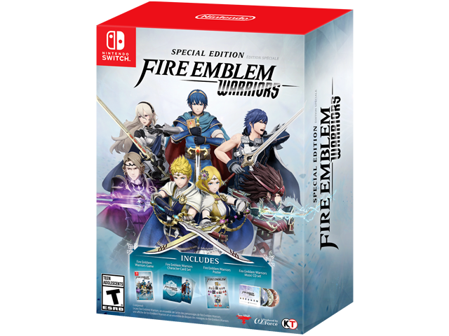Fire Emblem Warriors Special Edition (Switch) Box Art