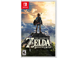 The Legend of Zelda: Breath of the Wild Nintendo Switch Box Art