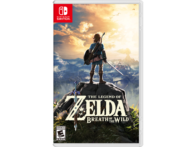 The Legend of Zelda: Breath of the Wild (Switch) Box Art