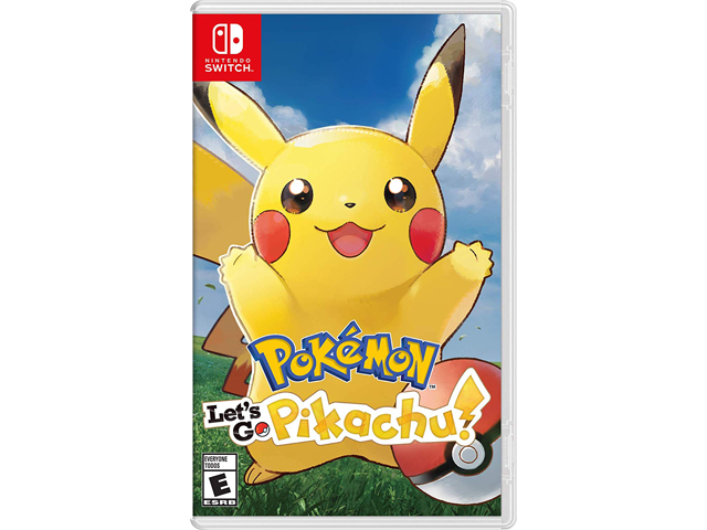 Pokemon: Let's Go Pikachu