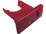 Battery Cover/Holder - Wii - Red