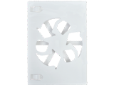 Game Disc Case - Wii - White - Closed