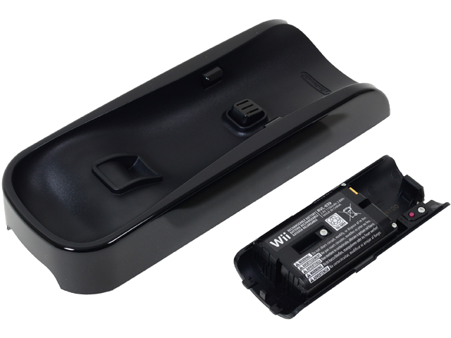Wii Remote Rapid Charging Cradle + Battery - Bottom