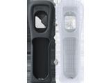 Wii Remote Jacket - Black + White - Short