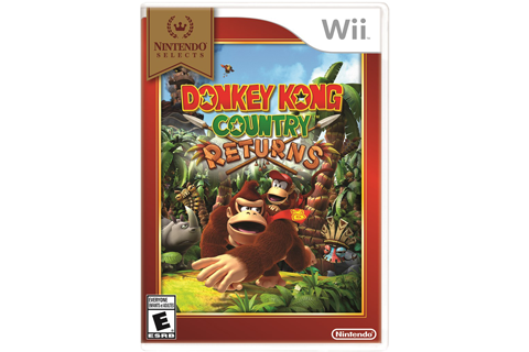 Donkey Kong Country Returns - Nintendo Selects Box Art