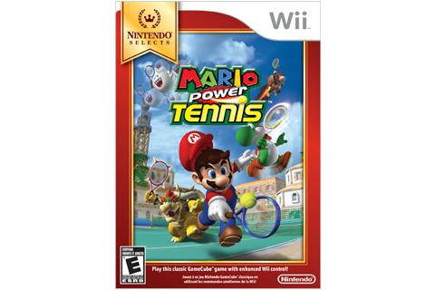 Mario Power Tennis - Nintendo Selects Box Art