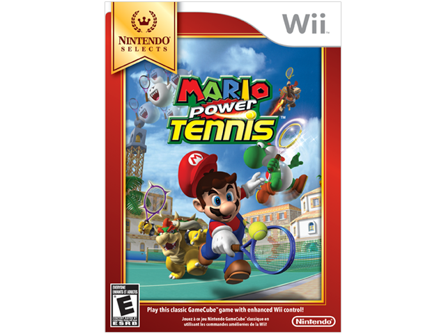 Mario Power Tennis - Nintendo Selects Box Art