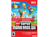 New Super Mario Bros. Wii - Refurbished Box Art