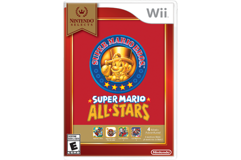 Super Mario All-Stars - Nintendo Selects Box Art